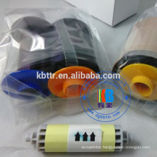 compatible feature Fargo hdp5000 color ribbon ymck 84051