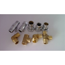 Raccords en laiton à lait Raccords en tuyau de laiton (C28000 / CuZn40)