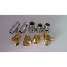 Screw Brass Fittings Brass Pipe Fittings (C28000 / CuZn40)