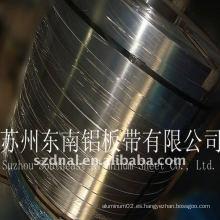 Placa de aluminio 1050 para instrumentos químicos