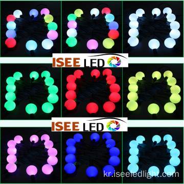 방수 교수형 50mm dmx led ball string