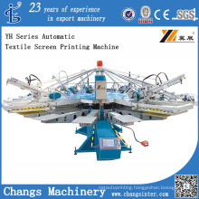 Yh-158/12 Automatic Textile Screen Printing Machine for Sale