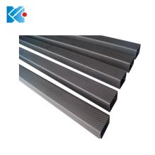 High strength custom pultruded square carbon fiber tube