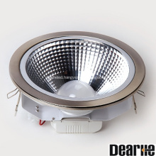 12w COB led ceiling downlight aluminum good brightness Hole 158mm 960lm led ceiling light