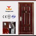 Durable Customize ISO9001 safety Galvanized Steel Door