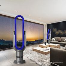 Viento natural 18 pulgadas Pantalla táctil ABS Torre recargable oscilante sin aspas oscilante