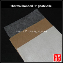 thermal bonded pp nonwoven geotextile