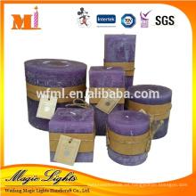 Customized Bighold perfumado cera Bougie