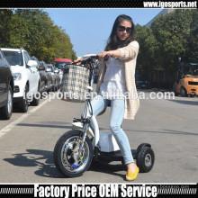 350 Вт три колеса взрослый электрический самокат для продажи