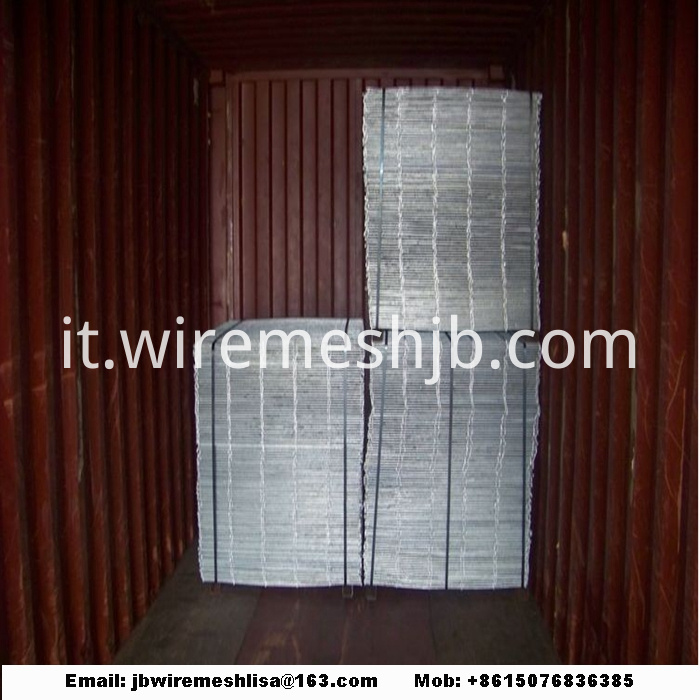 Hot Dipped Galvanized Welding Stone Cage Net