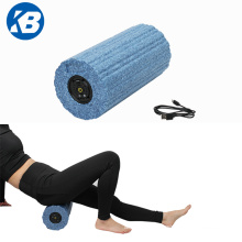 Custom Logo High Density EPP Body Building Fitness Sports Recovery Electric Yoga  Foam Roller Vibrator