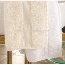 White Dobby Cotton Bath Towel Beach Towel Hand Towel For Hotel
