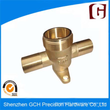 Brass Precision Piston Pump Parts CNC Machining