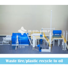 MSW city waste processing machine to oil