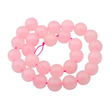 14MM Loose natural Gemstone Rose Quartz Round Beads for Making jewelry