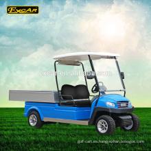 AC Motor 2 plazas eléctrico carro de golf eléctrico vehículo utilitario club club carrito de golf
