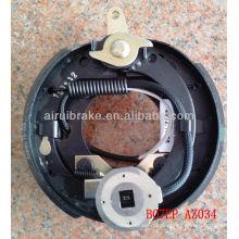 7 polegadas luz reboque eléctrico tambor freio placa traseira