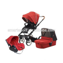 Luxury travel system baby stroller