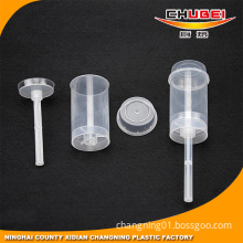 Chinese Supplier Plastic Clear Cake Push up Pop Containers