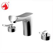 Faucet duplo do banheiro dos mercadorias sanitários do punho duplo torneira do dissipador