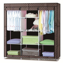 Portable Clothes Closet Non-woven Fabric Wardrobe Storage shelf Organizer