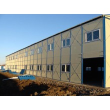 Light Steel Structure Warehouse for Workshop Dormitories, Temporary Offices