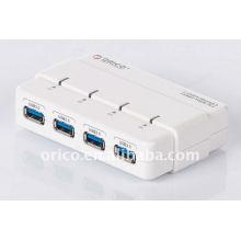 ORICO H4928-U3 portátil 4 portas 5 Gbps super velocidade USB3.0 HUB