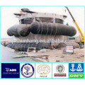 natural rubber inflatable pontoon tube for bridge installation