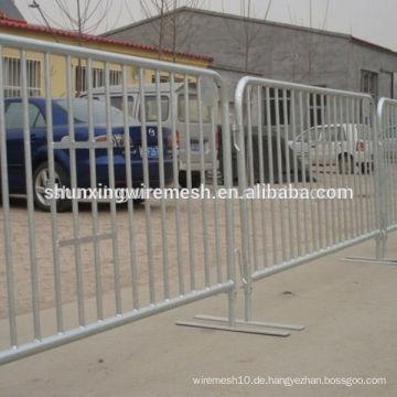 Crowd Control Barrikade verwendet Concert Crowd Control Barrieren zum Verkauf