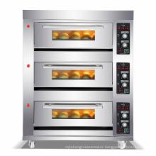 oven 3 deck/pizza oven/bakery equipment supplies
