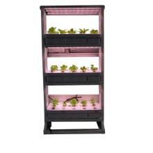 Bluetooth Control Vertical Grow Lighting Systèmes hydroponiques