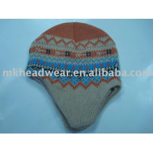 winter machine knitted hats