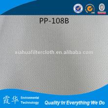 Pp filtro de linha longa tecido para indústria de açúcar