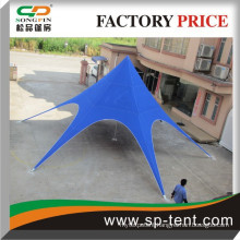 China aluminum star shaped tent, single top star tent, songpin tent