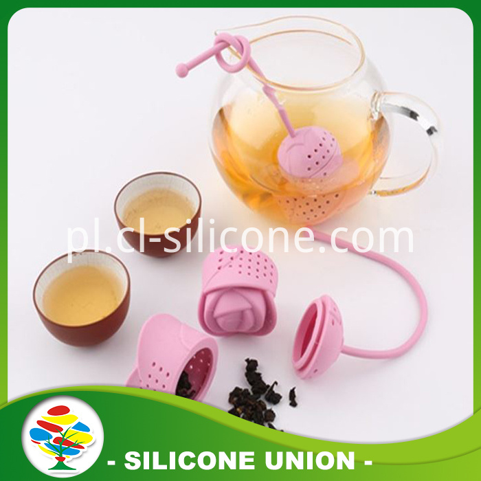 rose shape tea infuser