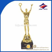 Trophée des prix de l'or en Chine à Shenzhen
