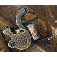 Liner et laiton sculpture Tattoo Machine Shader