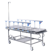 Best Selling High Quality Manual ABS Guardrail 3 Function Adjustable Hospital Electric ICU Bed