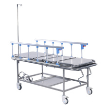 Melhor Venda de Alta Qualidade Manual ABS Guardrail 3 Função Ajustável Hospital Elétrica ICU Cama