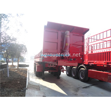 3 axls Rear Loaders Transportation Dump Truck
