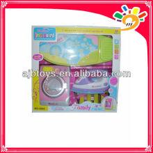 electric washing machine toy,plastic washing machine with light/music