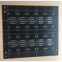 Good Quality for Keyboard PCB Assembly 2 layer 1.6mm 1OZ black solder export to Netherlands Supplier