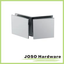 Стекло для стекла 135 градусов Квадратный латунный стеклянный зажим (BC202-135)
