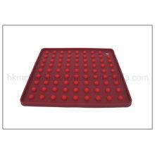 Quadratisches ätherisches Silikon-Tischset (RS27)