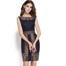 Short Sleeves Sexy Elegant Versatile Cocktail Office Elegant Dress