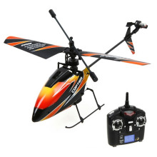 r c helicopter 2.4G 4CH Single Blade wl toys Gyro RC MINI Outdoor r/c copter With LCD and 2 Batteries v911 helicopter