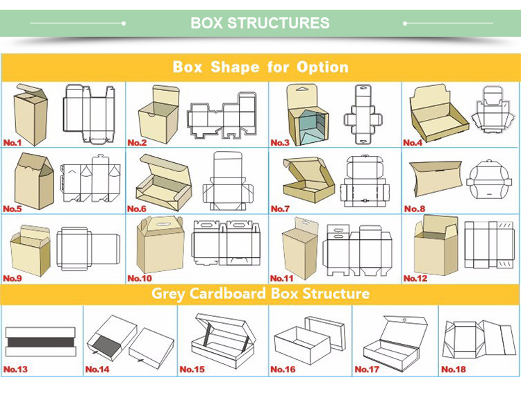 Drawer Paper Packaging Box