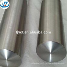 Barre ronde TMT AISI 304 en acier inoxydable brillant / noir