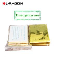 DW-EB01 Cobertor de emergência em papel prateado