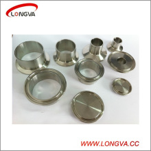 Stainless Steel 316 Sanitary Pipe Fitting Clamped Ferrule